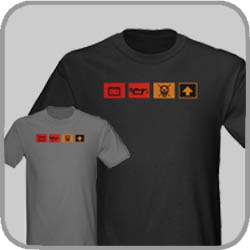 Dash Lights Tee